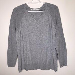 Athleta waffle knit sleeve sweater